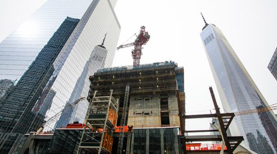 Amid the WTC Site, 3 World Trade Center Rises To New Heights