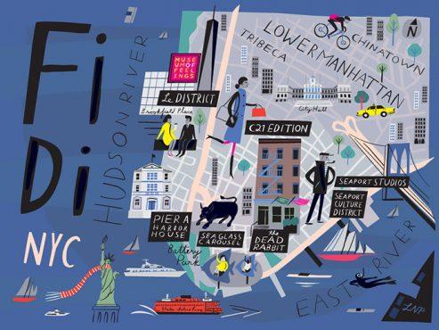 A Portrait of the Artists Documenting WTC's Progress