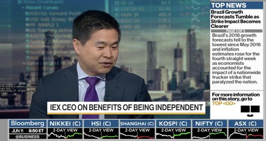 IEX CEO on Move to 3 World Trade Center