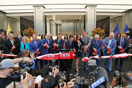 3 WTC Ribbon Cutting – June 11, 2018